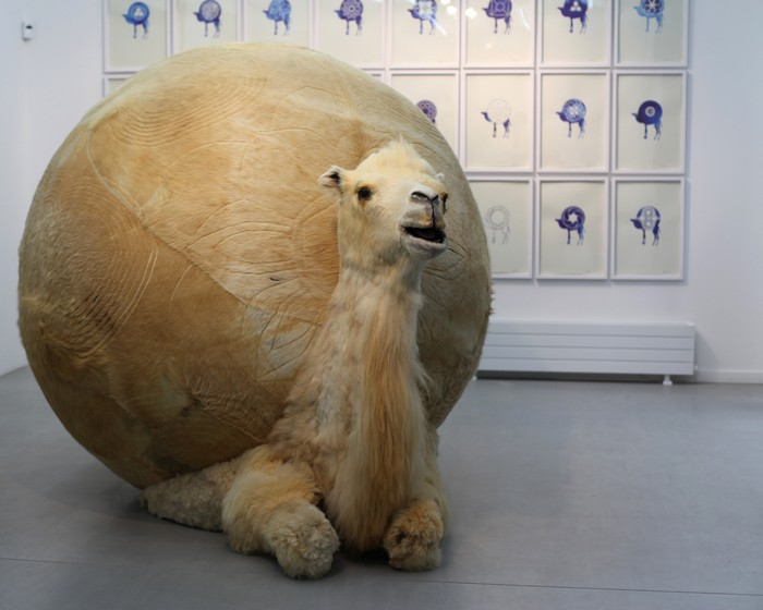 The Beijing-based artist Yang Maoyuan constructs controversial spherical sculptures like if they were balloon animals. Balloon animals Balloon animals by Yang Maoyuan Balloon animals by Yang Maoyuan artists I Lobo you2