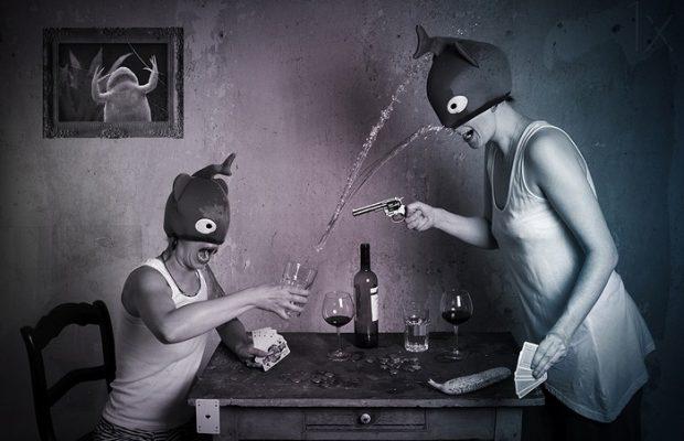 Surreal photography by Lotta van Droom