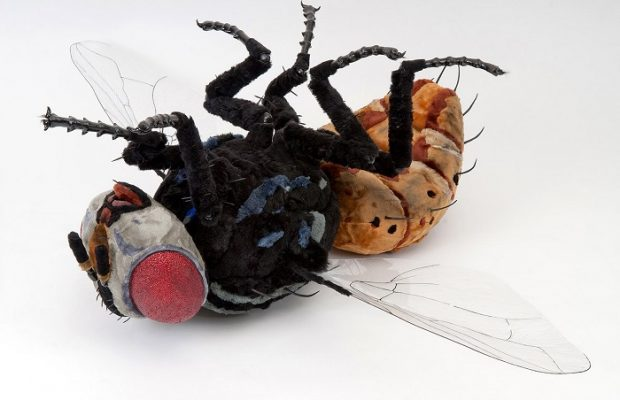 Trendy insects in art by Camille Kachani