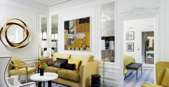 Didier Gomez began his career as an opera singer before branching out into the world of interior and product design. He become one of the Top interior designers