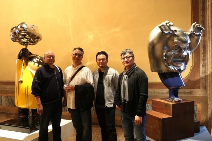 Venice Biennale 2017 Tsai Wei-Cheng at Venice Biennale 2017 Tsai Wei Cheng at Venice Biennale 2017 design agenda I Lobo you4
