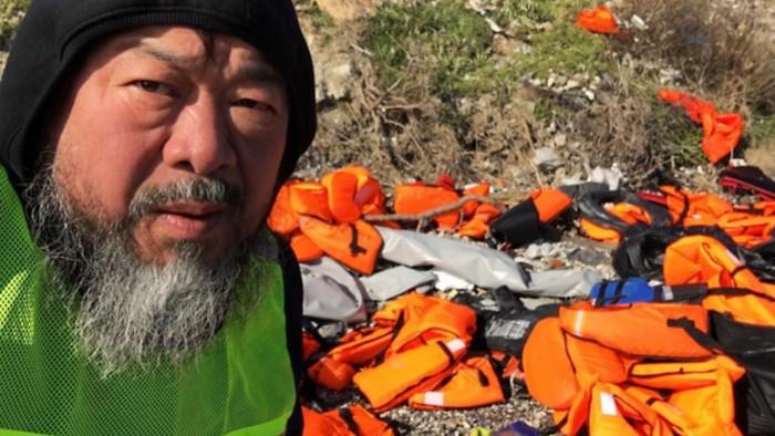 Ai Weiwei Ai Weiwei creates refugee crisis art installation Ai Weiwei creates refugee crisis art installation arts and crafts I Lobo you2