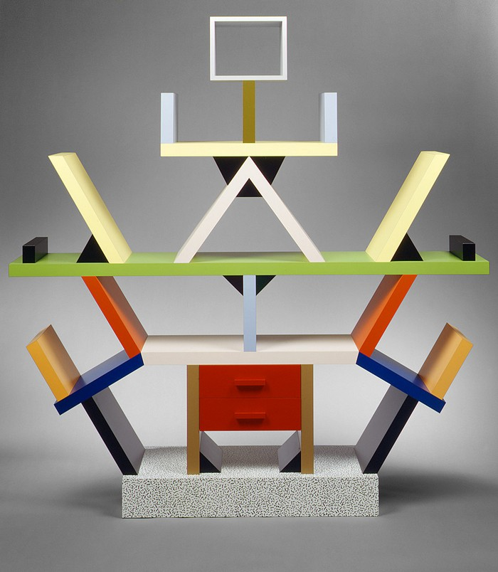 Architect, industrial designer, philosopher and provocateur, Ettore Sottsass was a very influent art deco designer of his epoch.