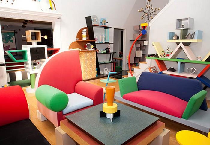 Postmodern Design Complete Design Furniture Graphics Architecture Interiors ~ Art deco designer ettore sottsass
