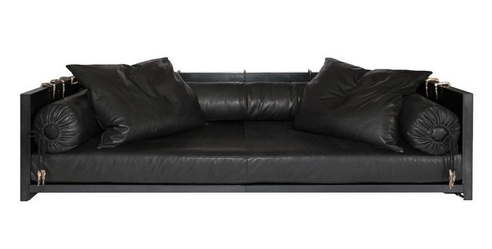 The Exo Sofa it's an art furniture piece by LONNEY WHITE III represented by LMD/Studio.