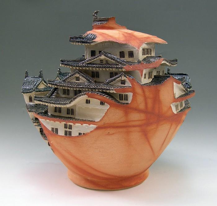 ceramic art Ceramic art by Keiko Masumoto Ceramic art by Keiko Masumoto I lobo you2