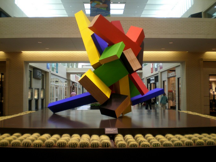Colorful art Colorful art by Joel Shapiro Colorful art by Joel Shapiro artists I Lobo you6