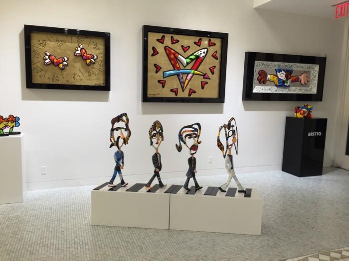 The Beatles Dorit Levinstein: The Beatles Dorit Levinstein The Beatles arts and crafts I Lobo you7