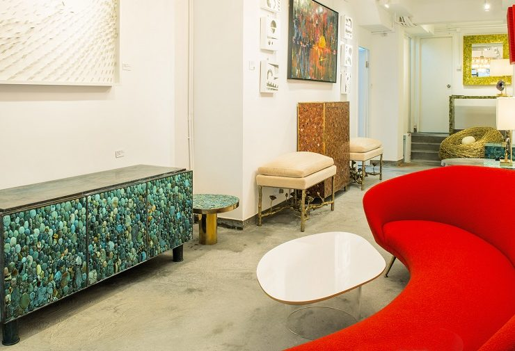 """Founded by Chinese businessman Yin Zing Luk, Kam Tin is known for its """"meubles bijoux,""""or jewelry furniture that we can call art furniture."""