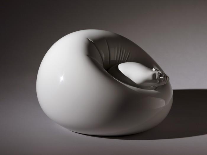 Modern art Modern Art: Stainless Steel By Rona Pondick Modern Art Stainless Steel By Rona Pondick I Lobo you12