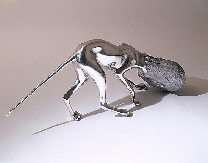 Modern art Modern Art: Stainless Steel By Rona Pondick Modern Art Stainless Steel By Rona Pondick I Lobo you3