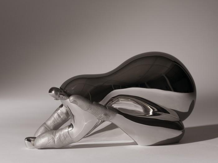 Modern art Modern Art: Stainless Steel By Rona Pondick Modern Art Stainless Steel By Rona Pondick I Lobo you9