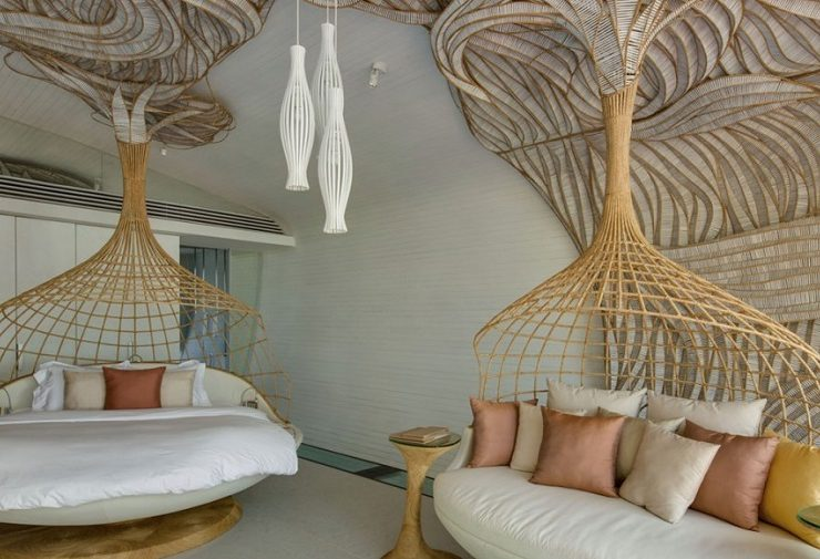 Iniala Beach House is comprised of three Luxury villas in Thailand, a true heaven on earth as per the natural view and luxurious design decoration.