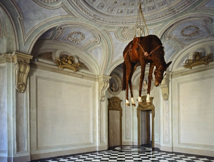 Maurizio Cattelan, the renowned Italian artist, is introducing dead horses art installations for the viewer treat.