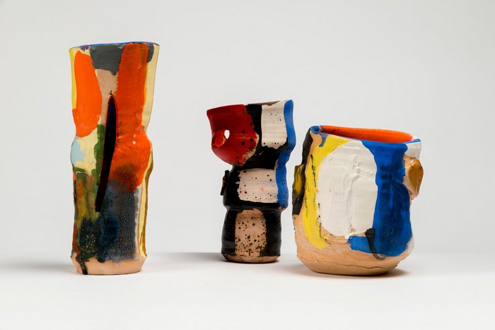 Ceramic Art Ceramic Art by Roger Herman Ceramic Art by Roger Herman fine art I Lobo you10