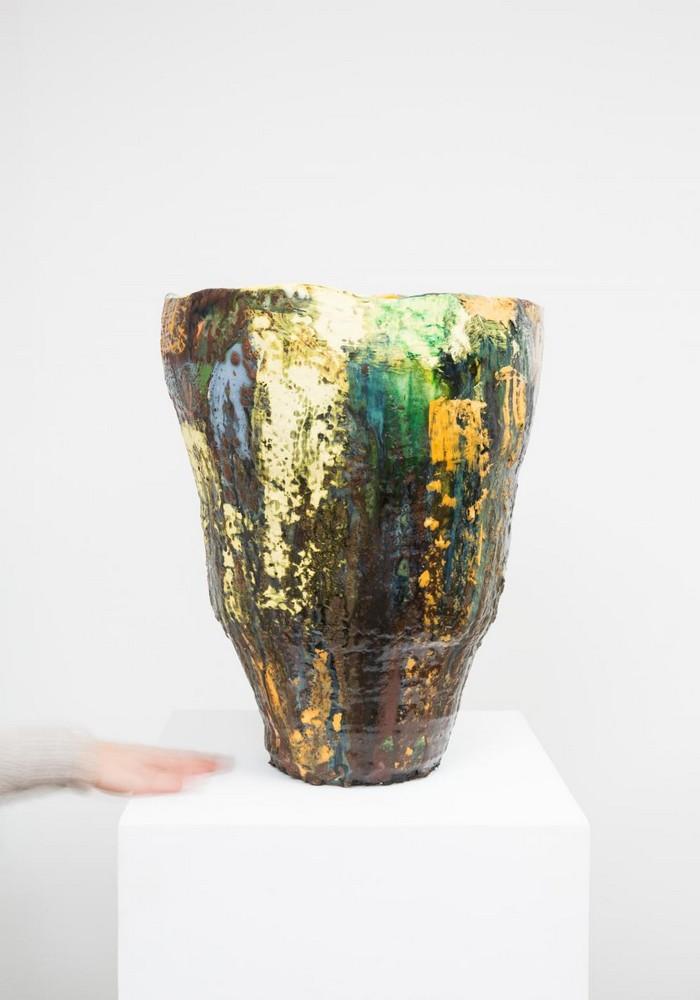 Ceramic Art Ceramic Art by Roger Herman Ceramic Art by Roger Herman fine art I Lobo you5