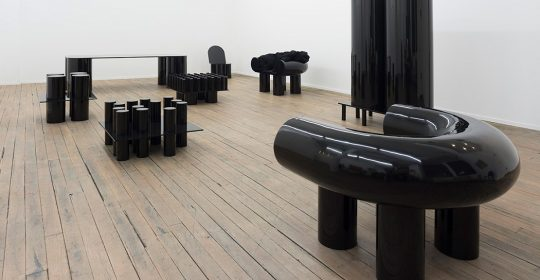 Ania Jaworska is an architect and educator. She also has her own line of art furniture mainly in black color.