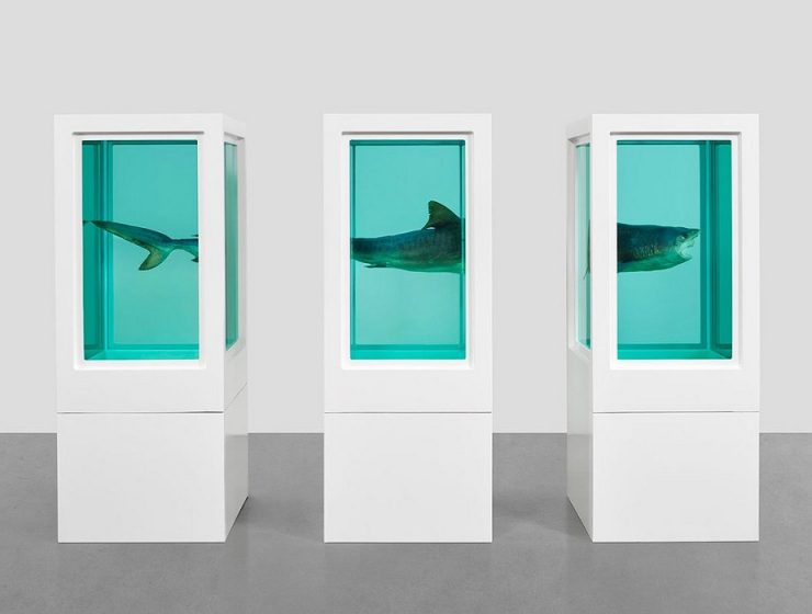 Happening from 23 November to 13 January 2018, Damien Hirst exhibition at Gagosian Gallery Hong Kong is calledVisual Candy and Natural History.