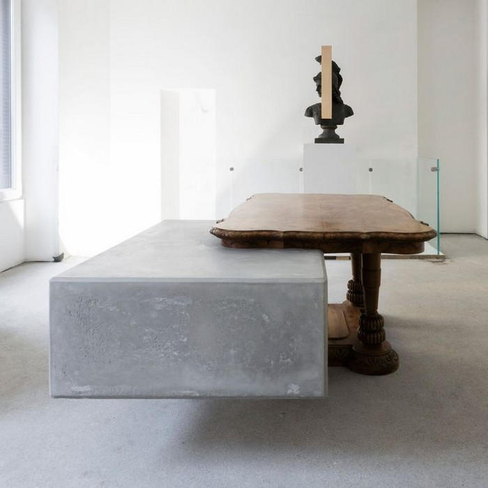 Studio Nucleo Studio Nucleo places concrete blocks in furniture Studio Nucleo places concrete blocks in furniture I Lobo you2