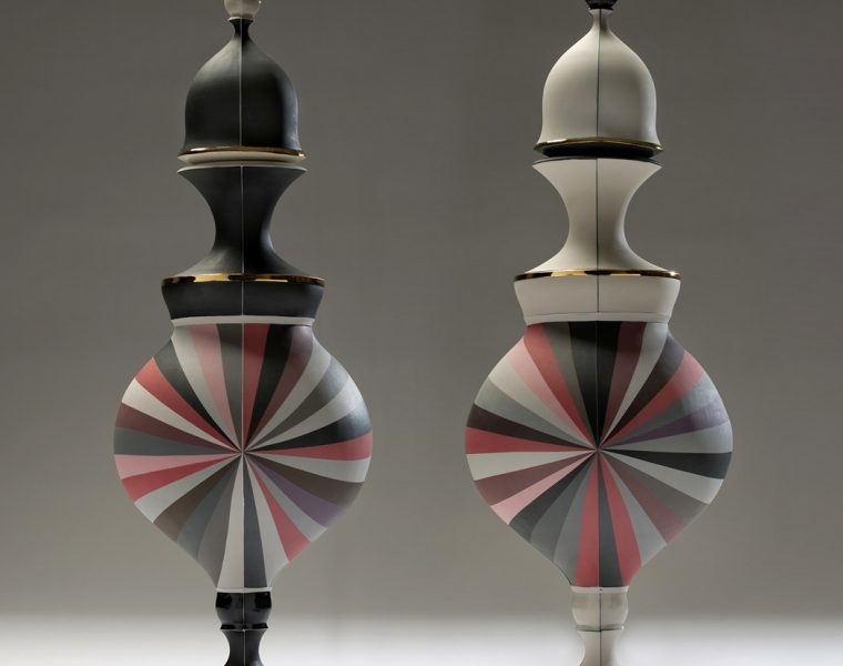 Peter Pincus, a New York bornceramic artist, is dedicated to colorful ceramic art very characteristic of his own style.