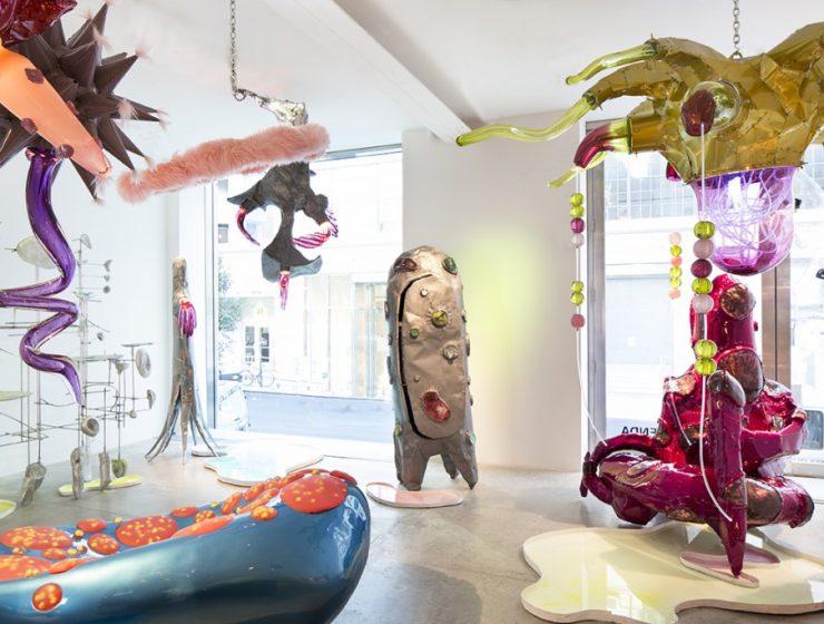 Until 16 December 2017, you can visit Misha Kahn exhibition entitledMidden Heap at design gallery Friedman Benda.