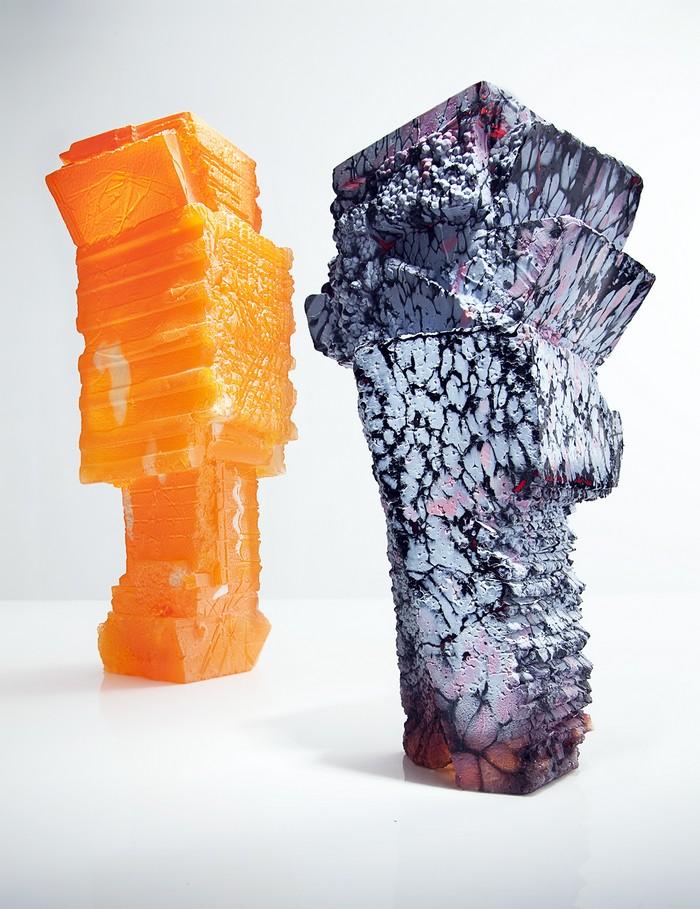 Glass art Glass art techniques by Thaddeus Wolfe for your home Glass art techniques by Thaddeus Wolfe for your home I Lobo you14