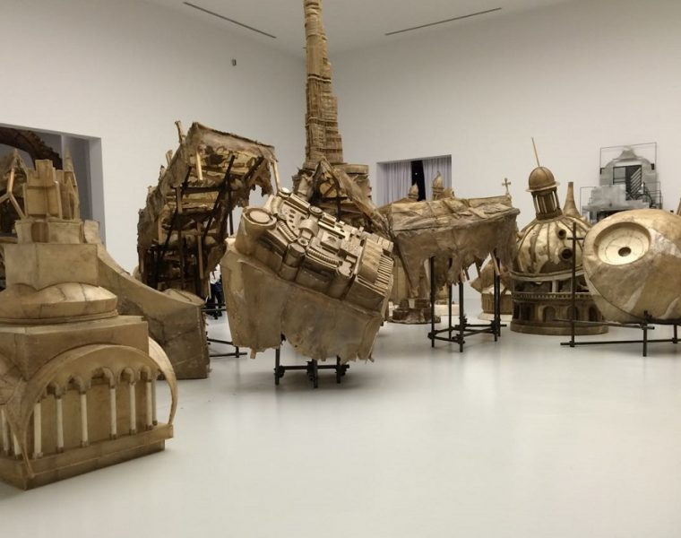 Liu Wei is a Chinese artist born in 1972 that explores 21st-century socio-political concepts, in his modern sculptures.