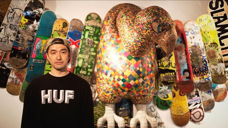 sculptures Haroshi Creates Sculptures Out Of Skateboard Deck haroshi i lobo you 10