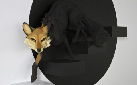 sculptures Human Emotions x Animal Sculptures by Beth Cavener cover 16 480x300
