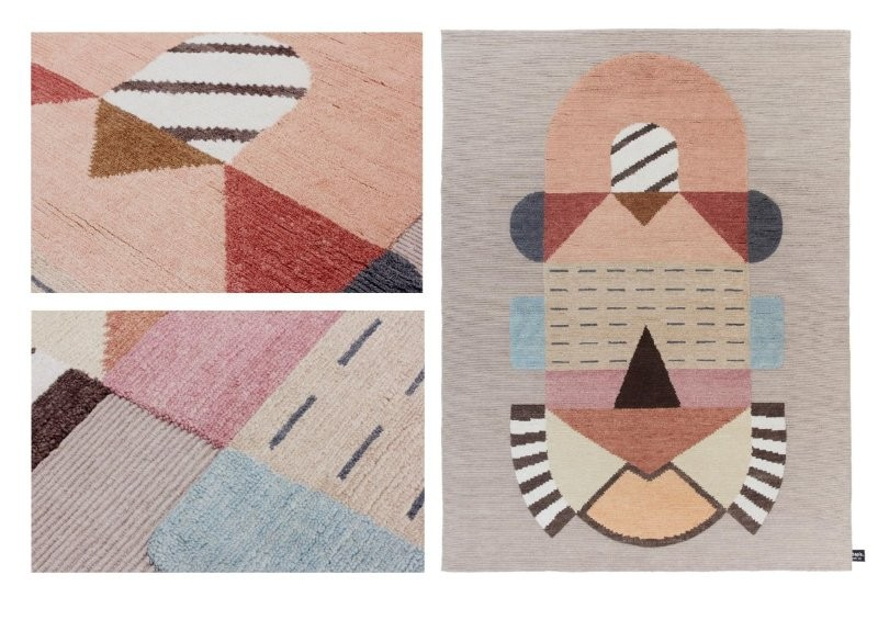 Carpet Design Elena Salmistraro's Carpet Design For CC Tapis elena salmistraro cc tapis i lobo you 5