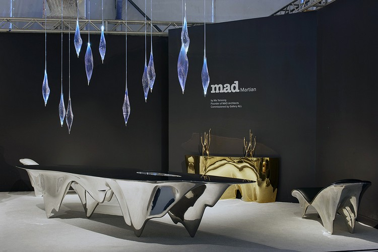 """Art furniture """"MAD Martian"""" Art furniture by Ma Yansong mad architects i lobo you 4"""