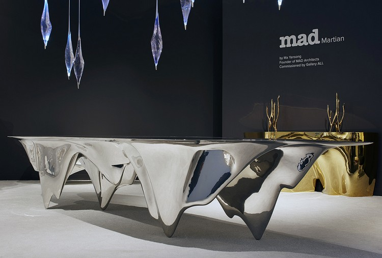"""Art furniture """"MAD Martian"""" Art furniture by Ma Yansong mad architects i lobo you 5"""