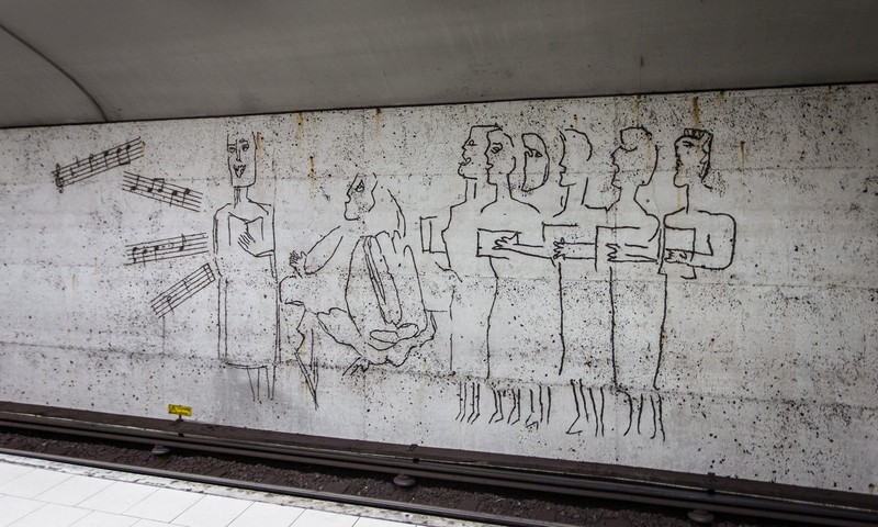 art gallery Stockholm Metro: The World's Longest Art Gallery stockholm metro i lobo you 1