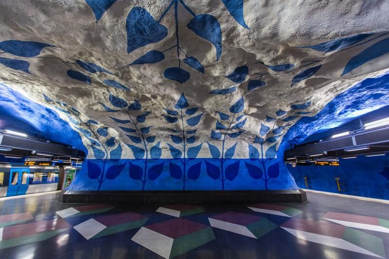 Stockholm Metro: The World's Longest Art Gallery at Stockholm art gallery Stockholm Metro: The World's Longest Art Gallery stockholm metro i lobo you 5