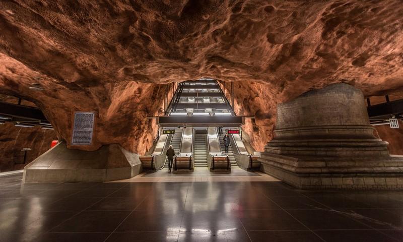 Stockholm Metro: The World's Longest Art Gallery at Stockholm art gallery Stockholm Metro: The World's Longest Art Gallery stockholm metro i lobo you 7