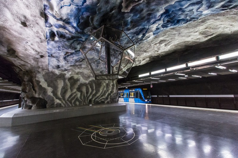Stockholm Metro: The World's Longest Art Gallery at Stockholm art gallery Stockholm Metro: The World's Longest Art Gallery stockholm metro i lobo you 8