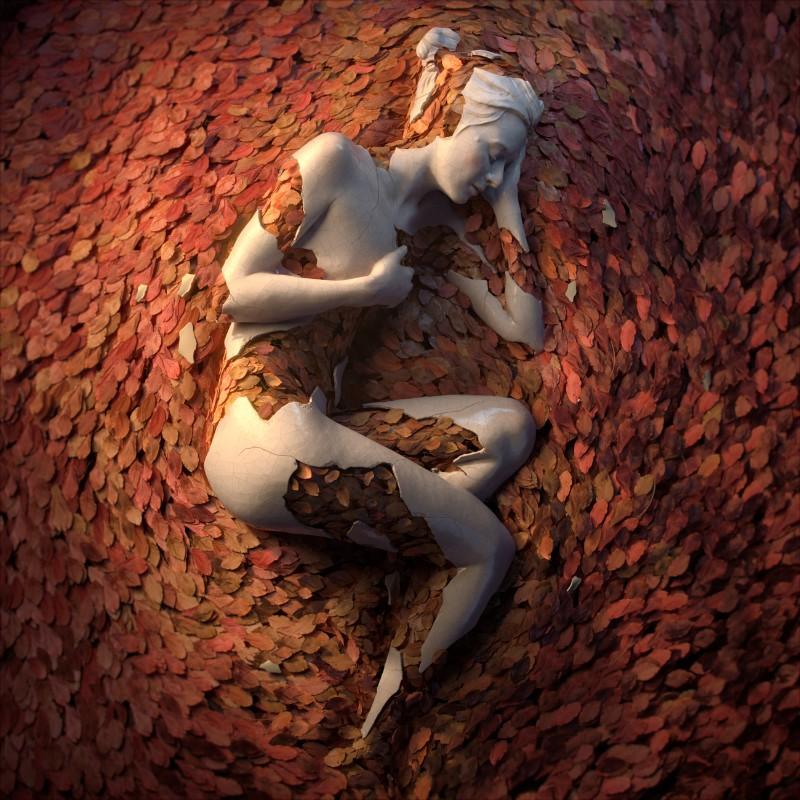 sculpture Meet the artist behind the flower-women sculptures flower 4