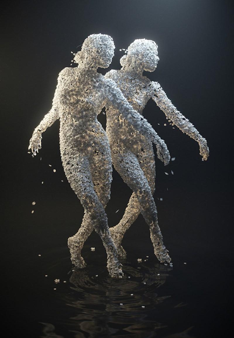 Meet the artist behind the flower-women sculptures