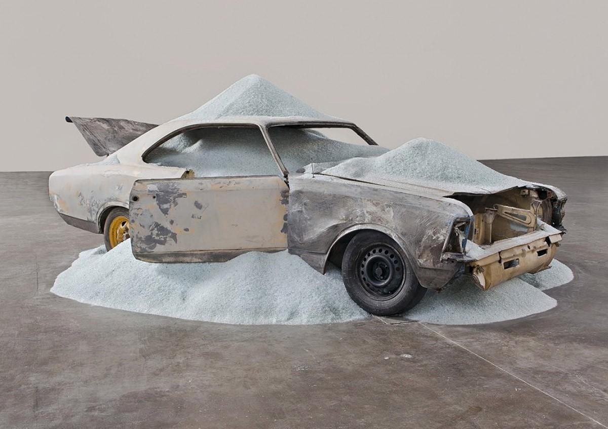 Discover Daniel Arsham's Contemporary Art daniel arsham Discover Daniel Arsham's Contemporary Art modern art i lobo you 2 1