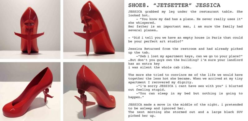 sebastian errazuriz 12 Shoes For 12 Lovers by Sebastian Errazuriz 12 shoes for 12 lovers by sebastian errazuriz designboom 107