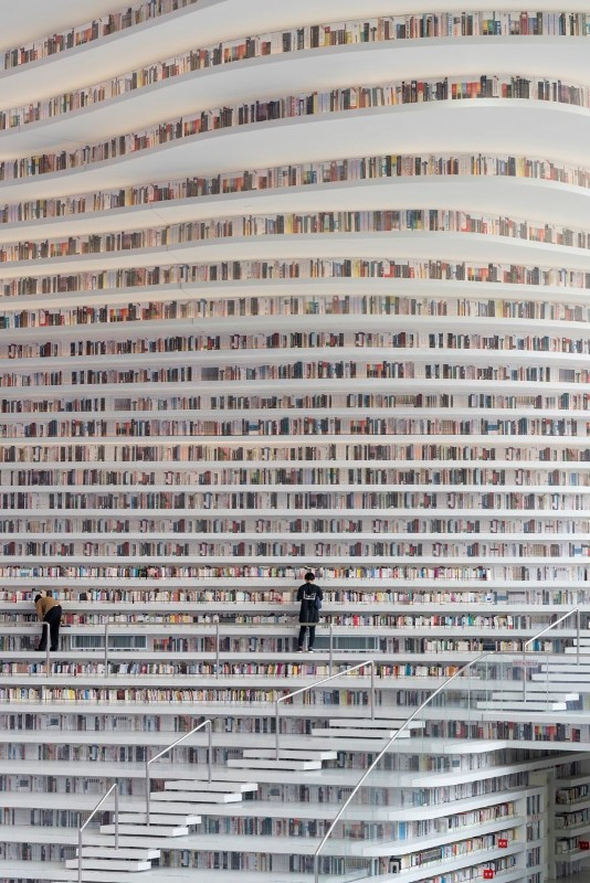 mvrdv The Fantastic Design Of The New Library In China By MVRDV The fantastic design of the new library in China 3 1