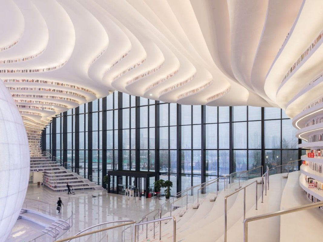 The Fantastic Design Of The New Library In China By MVRDV mvrdv The Fantastic Design Of The New Library In China By MVRDV The fantastic design of the new library in China 9