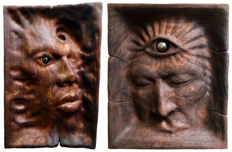 wood sculptures Wood Sculptures Only Seen in Dreams Wood Sculptures Only Seen in Dreams 8