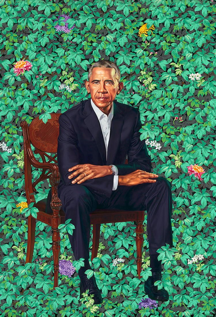 Kehinde Wiley: The Artist Who Painted The obama's portrait obama's portrait Kehinde Wiley: The Artist Who Painted The Obama's Portrait amy kehinde inspiratons 10
