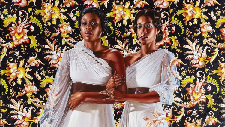 Kehinde Wiley: The Artist Who Painted The Obama's Portrait obama's portrait Kehinde Wiley: The Artist Who Painted The Obama's Portrait amy kehinde inspiratons 2