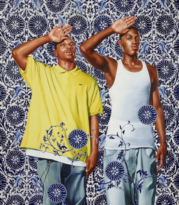 Kehinde Wiley: The Artist Who Painted The obama's portrait obama's portrait Kehinde Wiley: The Artist Who Painted The Obama's Portrait amy kehinde inspiratons 3