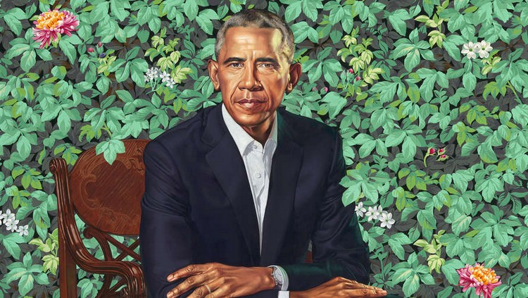 Kehinde Wiley: The Artist Who Painted The obama's portrait obama's portrait Kehinde Wiley: The Artist Who Painted The Obama's Portrait amy kehinde inspiratons 4