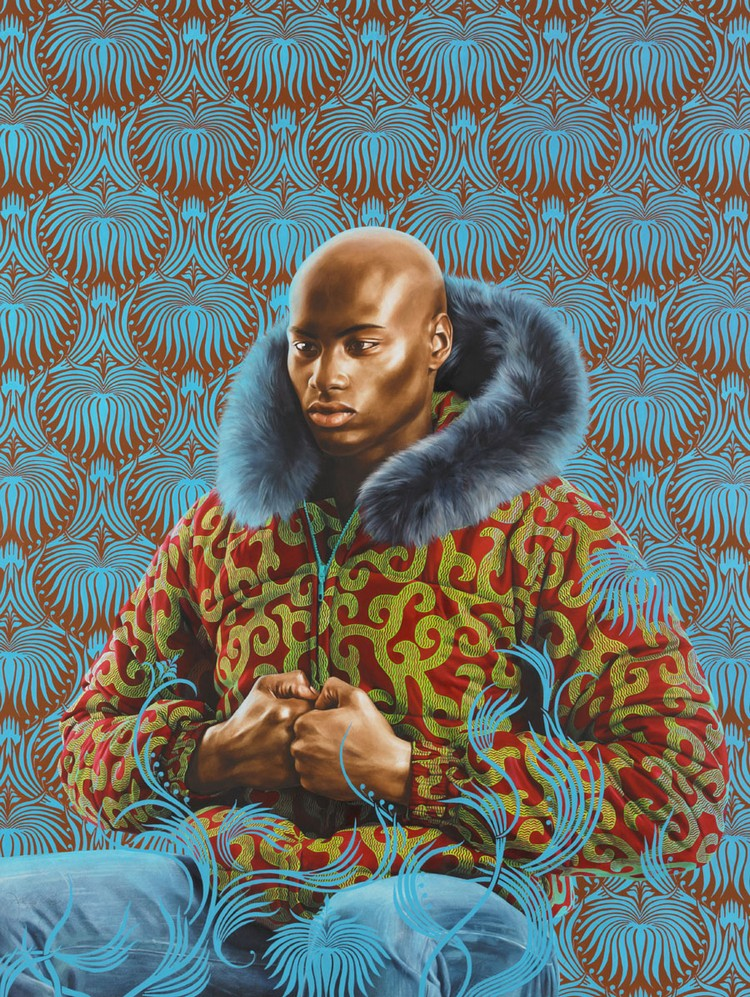 Kehinde Wiley: The Artist Who Painted The Obama's Portrait obama's portrait Kehinde Wiley: The Artist Who Painted The Obama's Portrait amy kehinde inspiratons 8