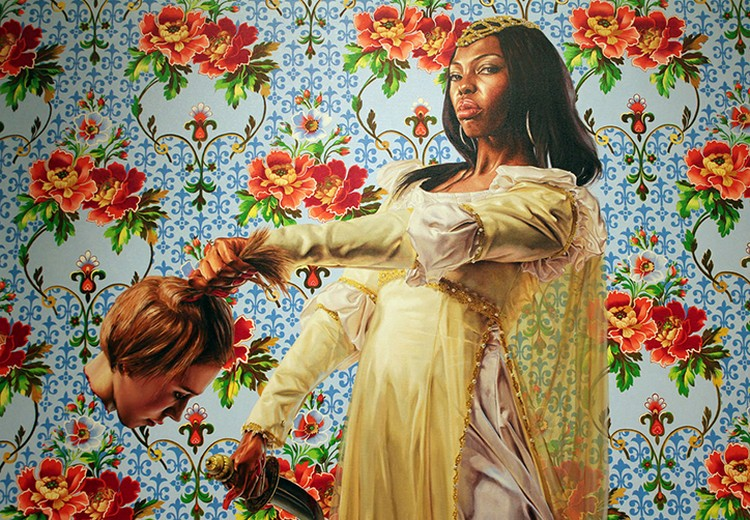 Kehinde Wiley: The Artist Who Painted The Obama's Portrait obama's portrait Kehinde Wiley: The Artist Who Painted The Obama's Portrait amy kehinde inspiratons 9