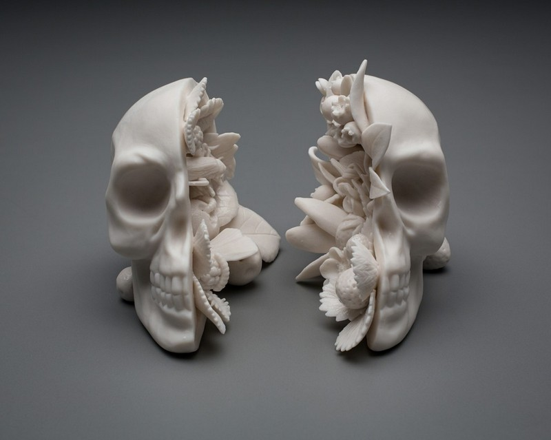 Human and Natural Elements in Sculptures by Kate MacDowell sculptures Human and Natural Elements in Sculptures by Kate MacDowell kate mcdowell i lobo you4